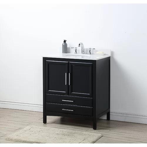 Wycombe 30 Single Bathroom Vanity Set Single Bathroom Vanity 30 Inch Bathroom Vanity Vanity Set
