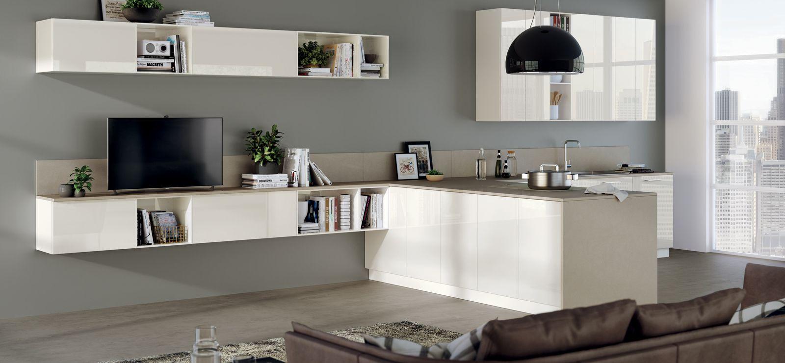 Living Scavolini Modello Di Cucina Contemporanea Arredamento Idee Di Interior Design