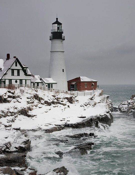 Prime These Lighthouses In Winter Are Picture Perfect New Download Free Architecture Designs Scobabritishbridgeorg