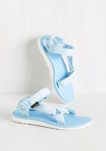 My Stride of the Story Sandal in Sky, @ModCloth