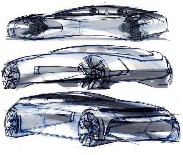 Honda project in progress... #honda #hondadesign #automotivedesign #transportationdesign #productdesign #cardesign #sketch #designsketch…
