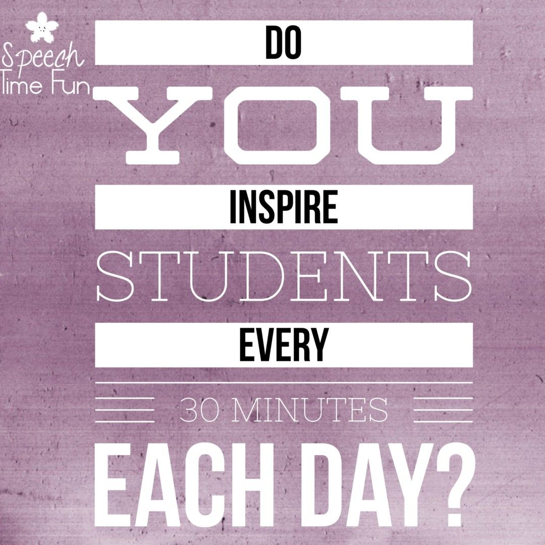 Do You Inspire Students Every 30 Minutes