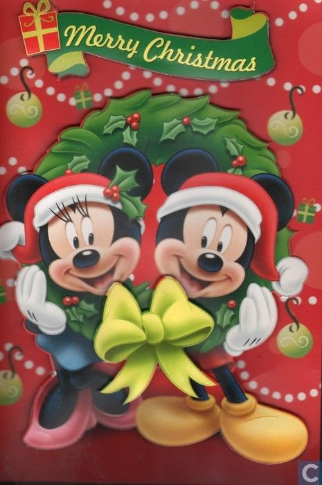 mickey mouse merry christmas - Merry Christmas Mickey Mouse