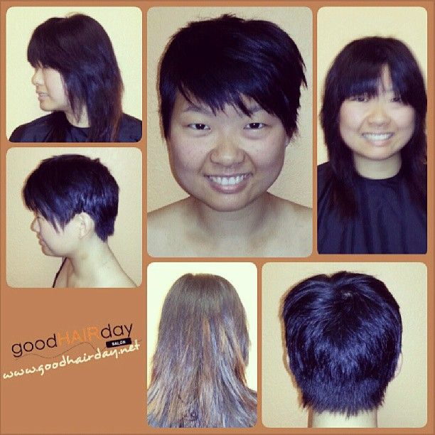 SHORT HAIR CUT  Relaxed Styles, Natural Styles, Keratin Treatments, Custom Color, Precision Cuts, Book online!  www.goodhairday.net