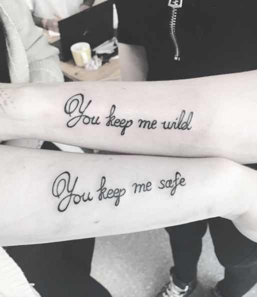 100 Unique Best Friend Tattoos with Images | Friendship tattoo ...