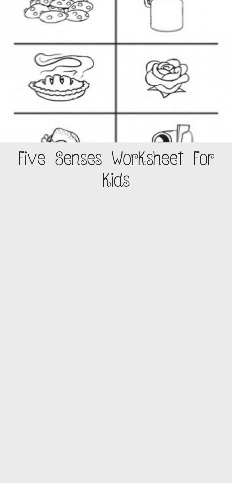 Five Senses Worksheet For Kids Toys Dchouzz Com Five Senses Worksheet Worksheets For Kids Worksheets [ 1560 x 750 Pixel ]