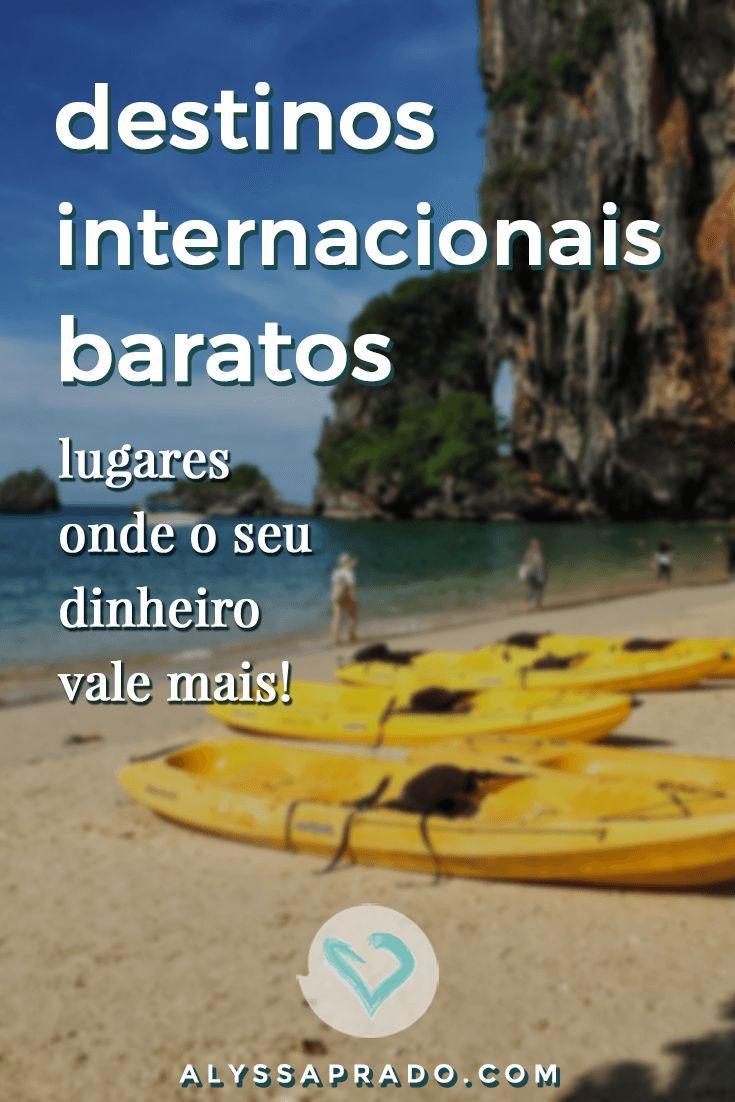 Lugares baratos para Viajar – Destinos Internacionais e no Brasil [2019]