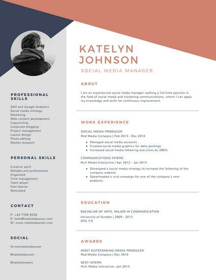Canva Templates Resume from i.pinimg.com