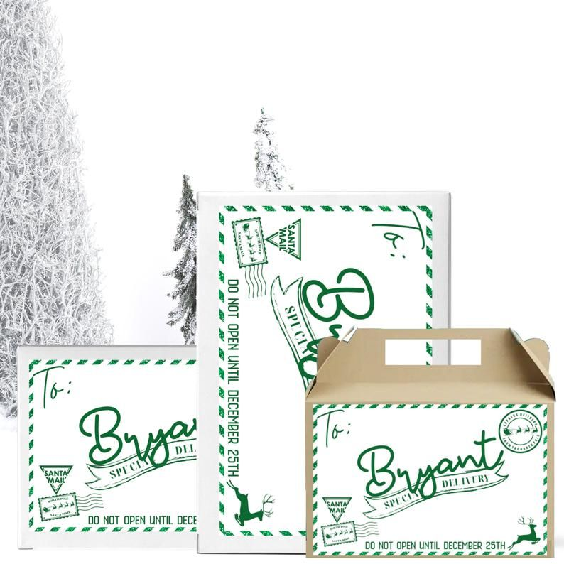 Is Mail Delivered On Christmas Eve 2021 Xmas Eve Box Personalized Labels Christmas Eve Mail Etsy In 2021 Label Christmas Personalised Christmas Eve Box Xmas Eve Boxes