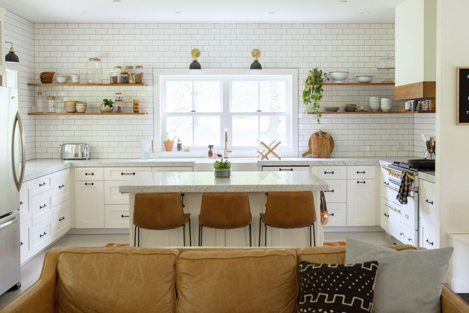 west elm Kitchen — The Homegrown Apple | House Tours in 2019 ...