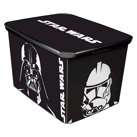 Decorative Plastic Storage Boxes With Lids Disney Star Wars Decorative Storage Box With Lid  Star Wars