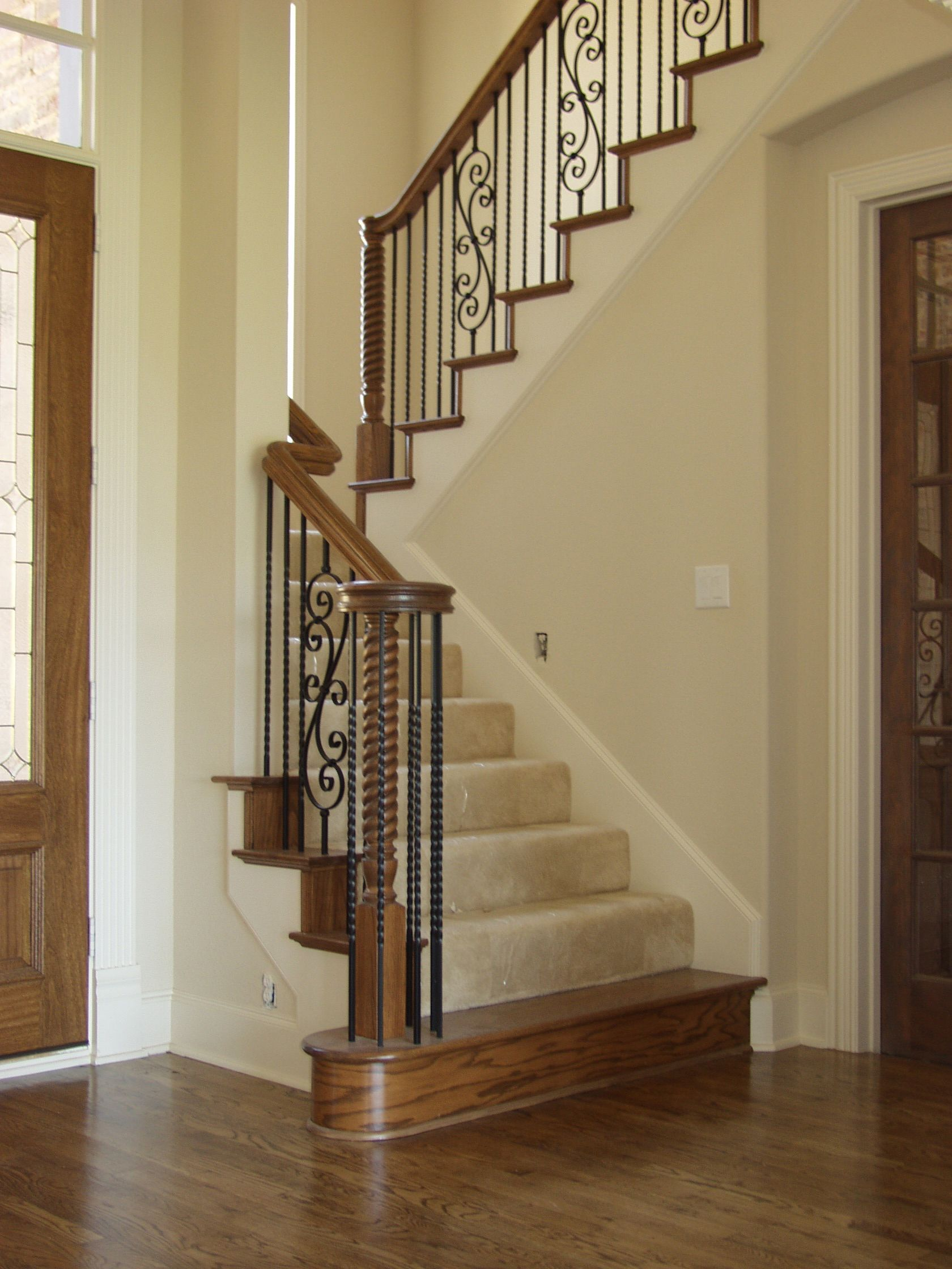 Best This Design Was Created Using Twist Balusters The Double 400 x 300