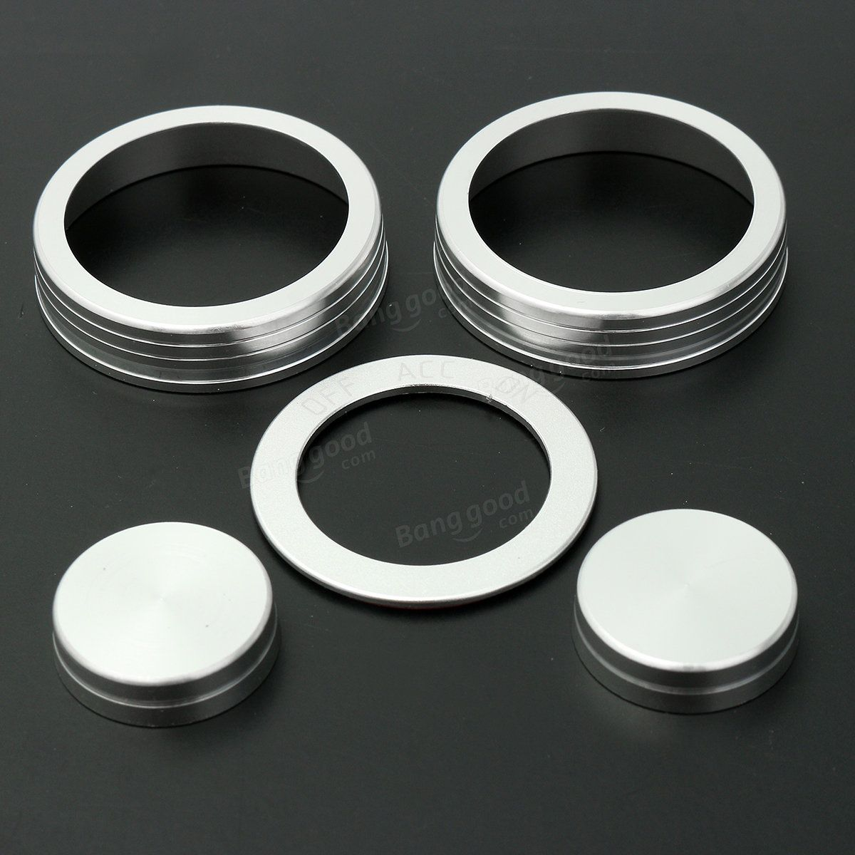 [US9.99] 5 Pcs Car Air Condition Button Ignition Ring