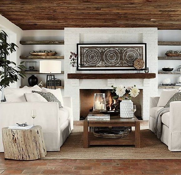 Willow White Slipcovered Sofa Reviews Crate And Barrel Home Family Room Casual Living Rooms