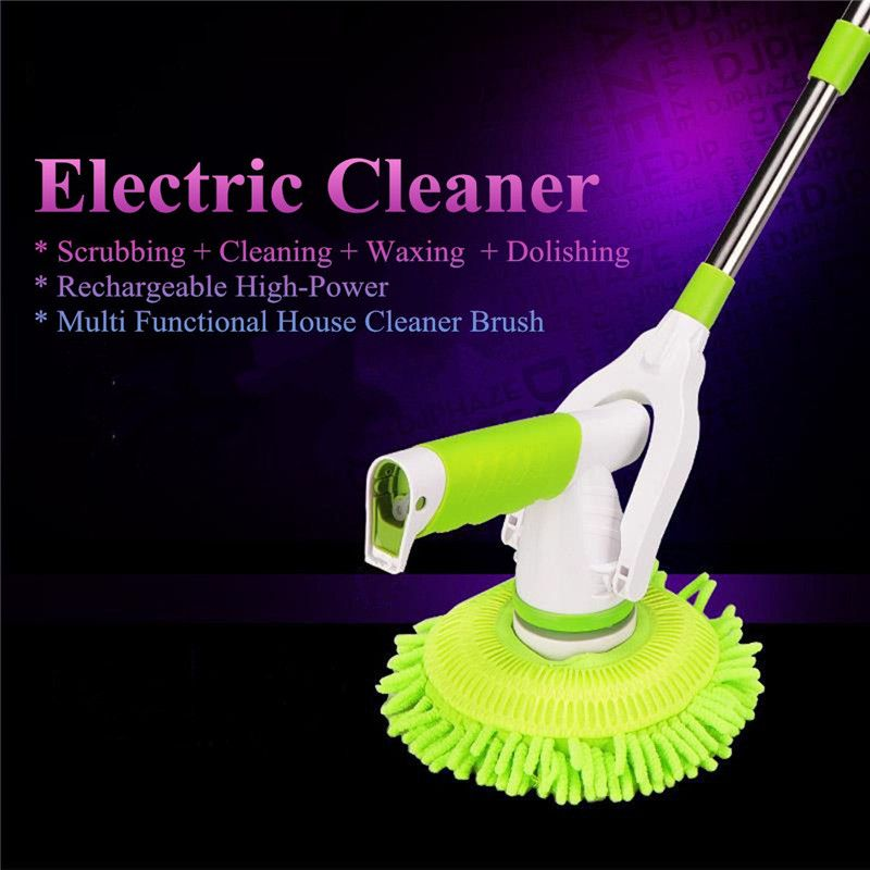 Automatic Electric Cleaning Brushes Rechargeable Cordless Scrubber - Electric bathroom cleaning brush