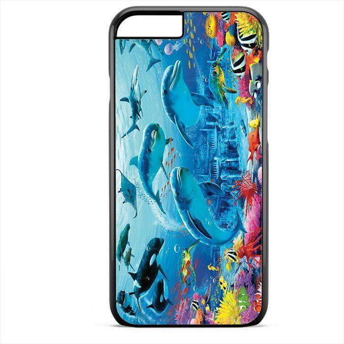 Beautiful Fish Dolphin Shark Manta Undersea TATUM-1633 Apple Phonecase Cover For Iphone SE Case