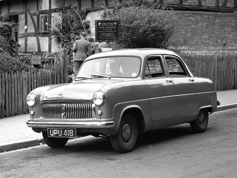Ford Consul Mki 1951 56 Ford Old Lorries Consul