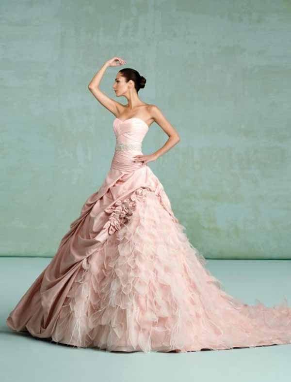 Light Pink wedding dresses - Bing Images | PINK | Pinterest ...