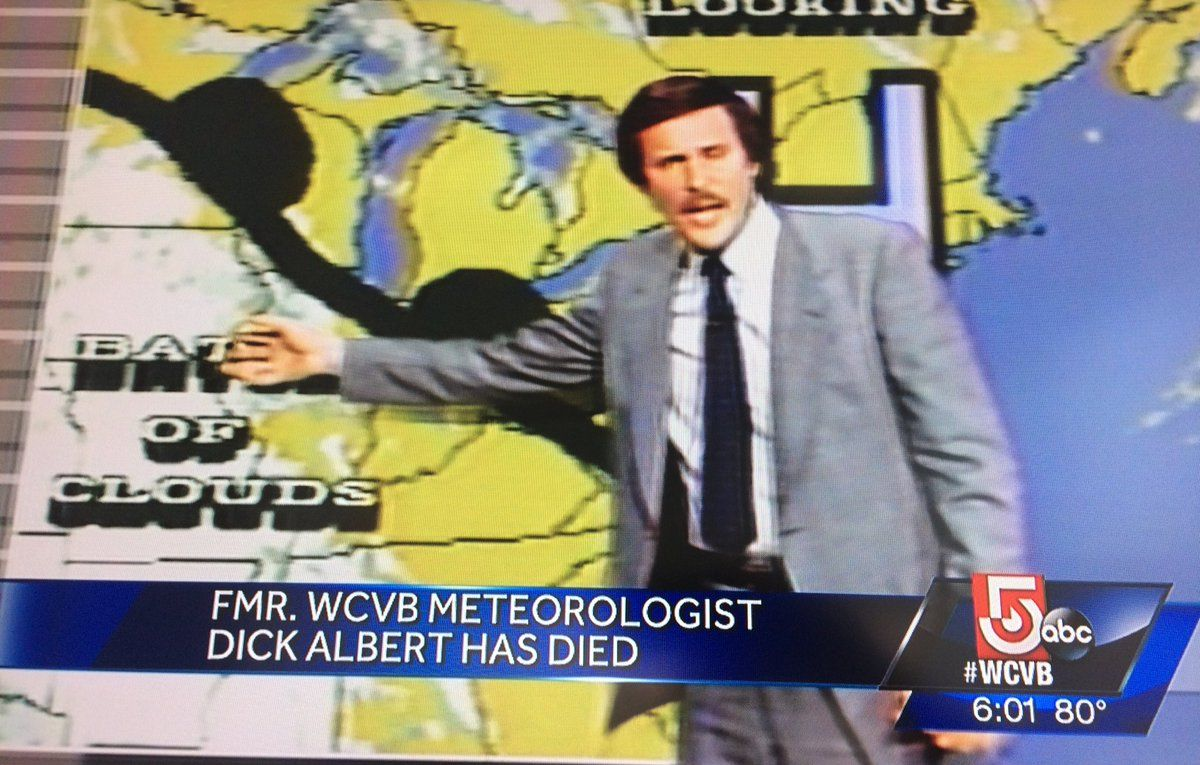 Beloved Boston Meteorologist Dick Albert has passed away at 72