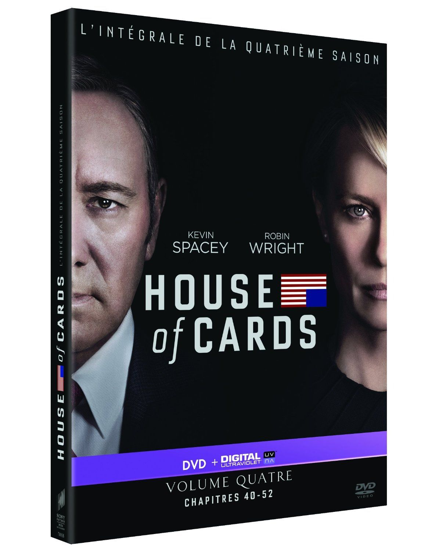 House of Cards - Saison 4 [DVD + Copie digitale]: DVD & Blu-ray : Amazon.fr