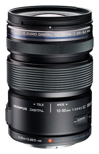 M Zuiko Digital Ed 12 50mm Black Olympus Camera Slr Lens 35mm Digital Camera