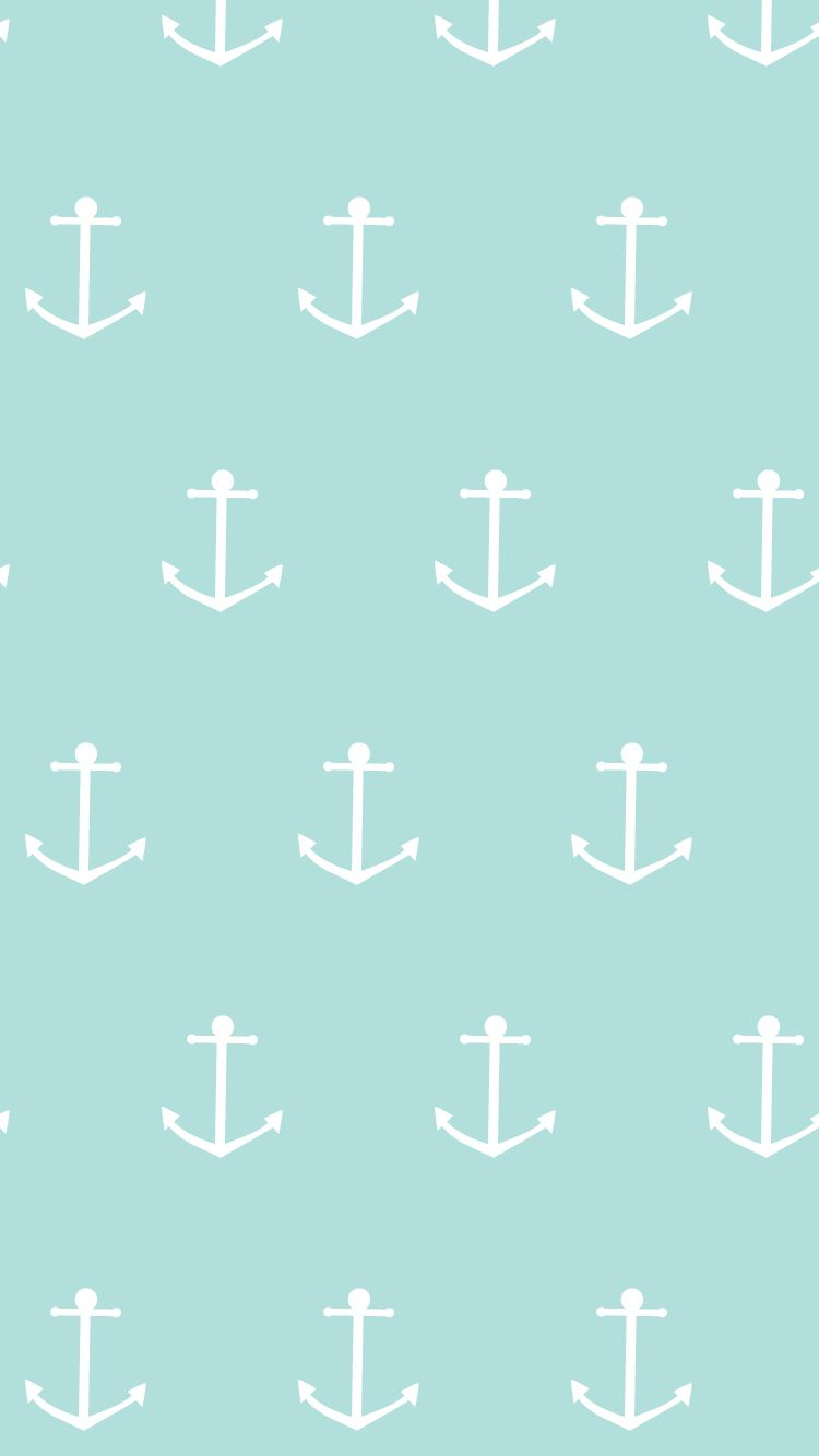 Blue Summer Anchor Iphone Home Wallpaper Panpins Cool Wallpapers For Phones Anchor Wallpaper Phone Wallpaper