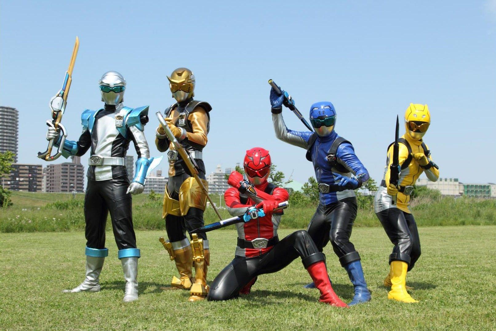 スーパー戦隊 歴代 大橋直久 パワーレンジャー スーパー戦隊 ジュウオウジャー