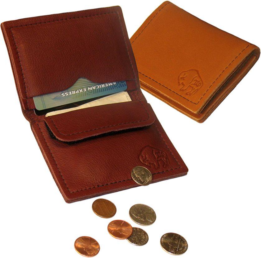 662e76789ee4d Buffalo Card Case with Coin Pocket