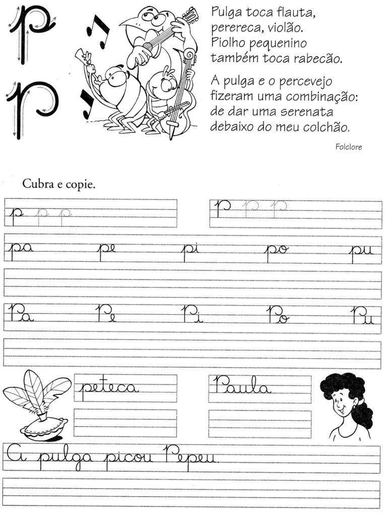 26 Atividades Com Fichas Das Letras Do Alfabeto Para Imprimir