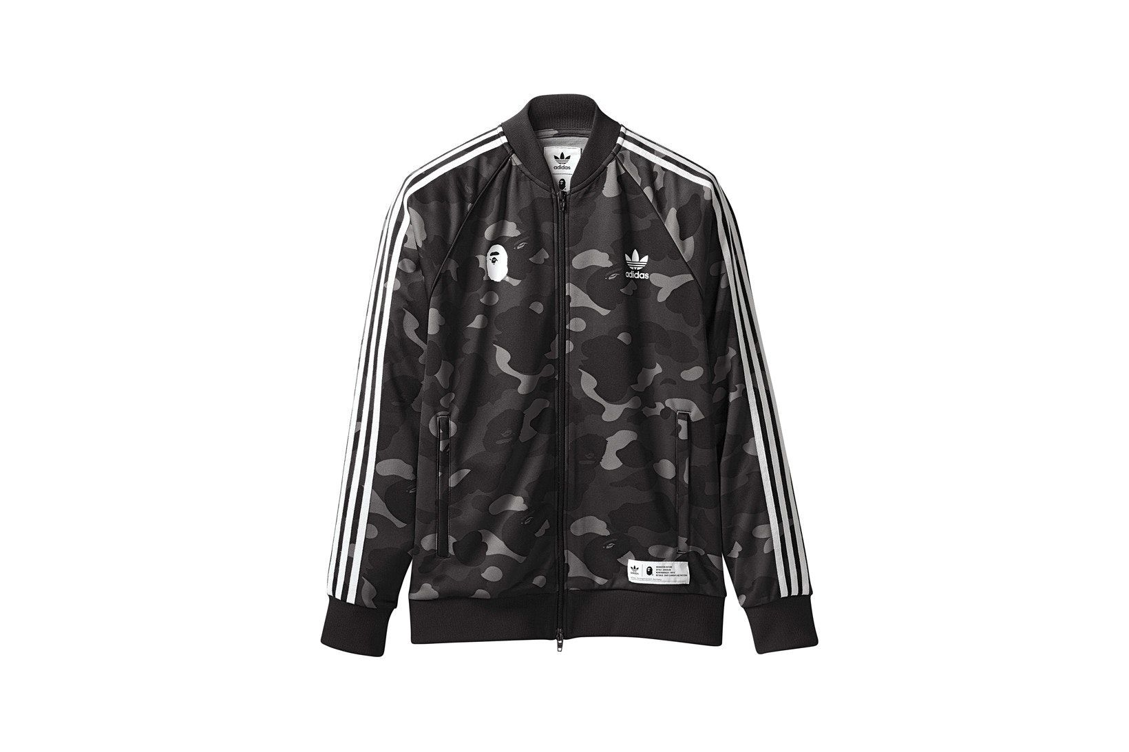 3abb2402 Check out the Bape x adidas adicolor Track Top Cinder available on StockX