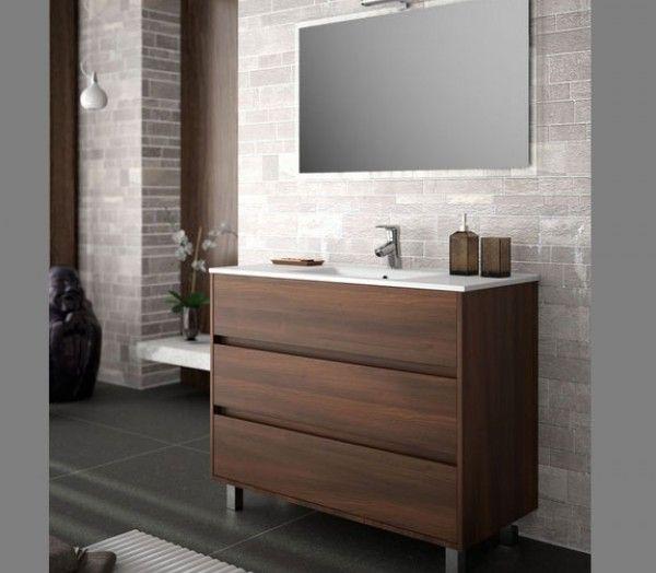 Ensemble meubles de salle de bain ARENYS 1000 Meuble, largeur 101cm