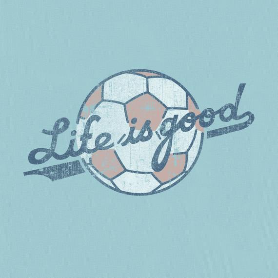 Women S Life Is Good Soccer Crusher Tee Life Is Good Soccer Backgrounds Soccer Motivation Soccer Pro