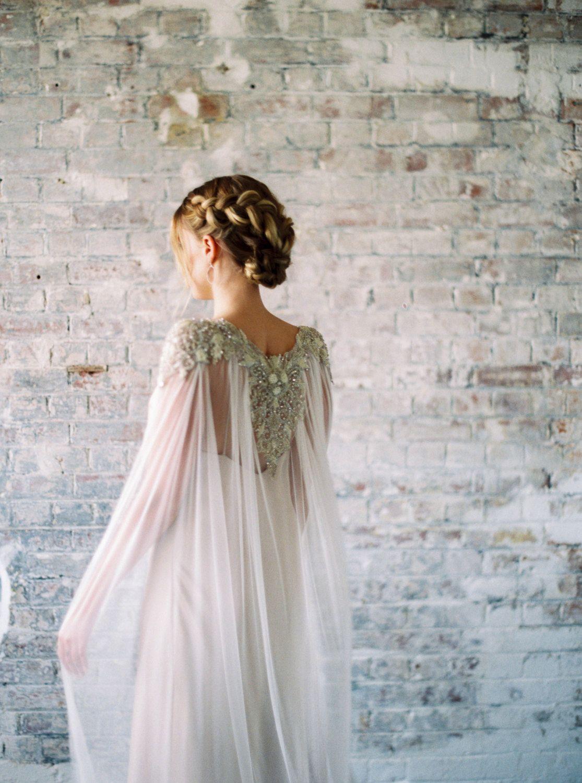 Lakshmi Beaded Crystal Pearl Silk Train by GibsonBespoke on Etsy ...