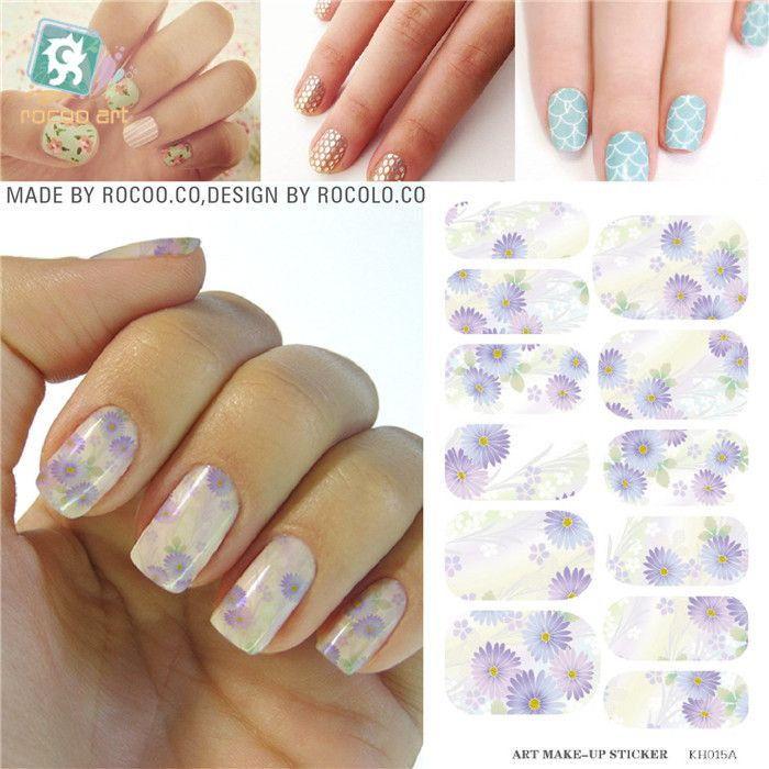 Aliexpress.com : Buy Nail Designs Decorations Tools Patch Full Cover ...