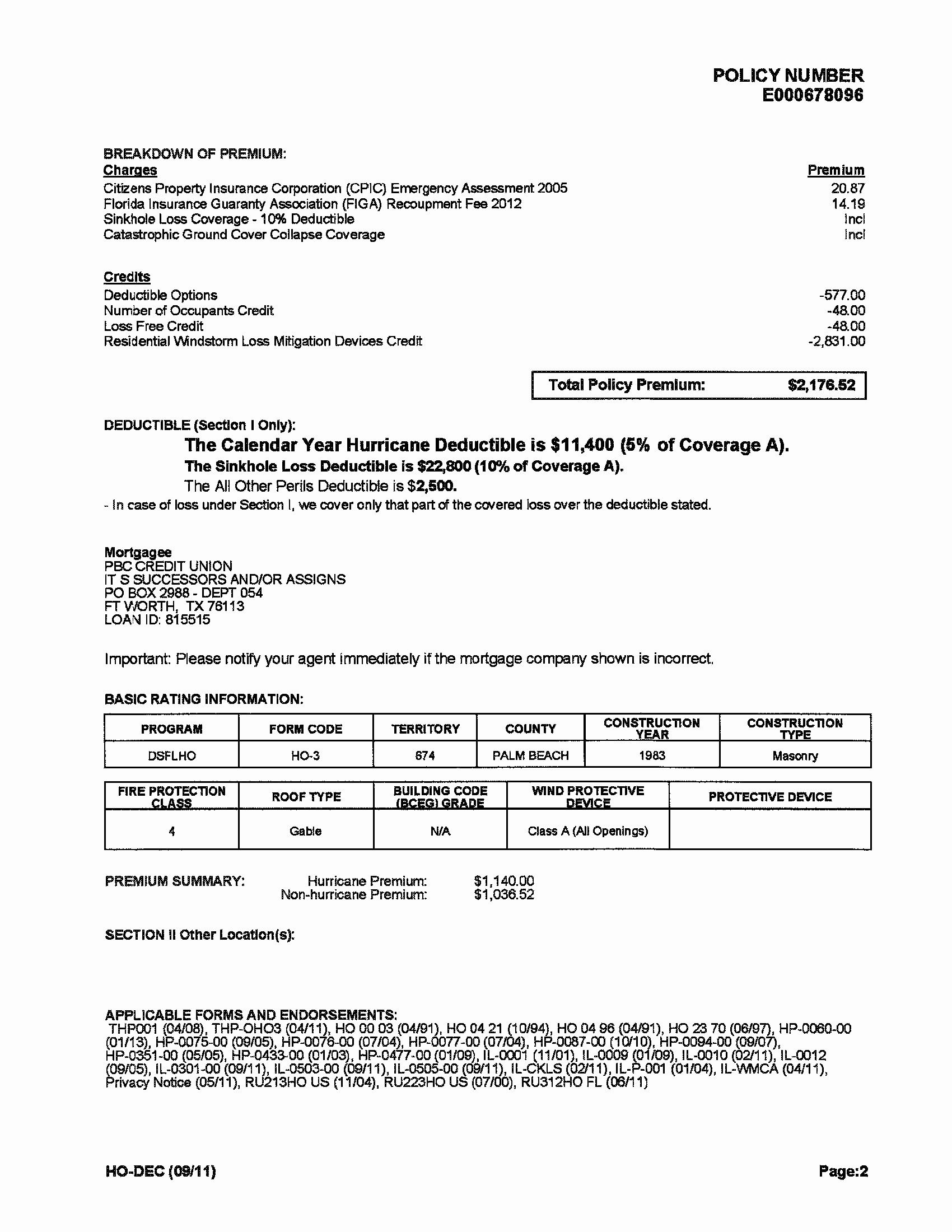 Proof Of Auto Insurance Template Free Elegant Document in