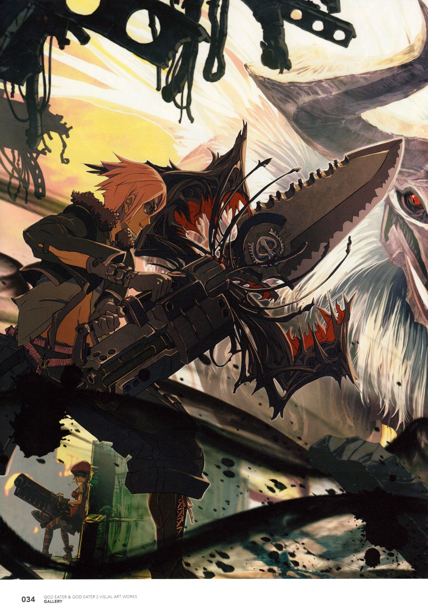 Pin by Grn 0083 on God Eater Awesome anime, Anime, Like