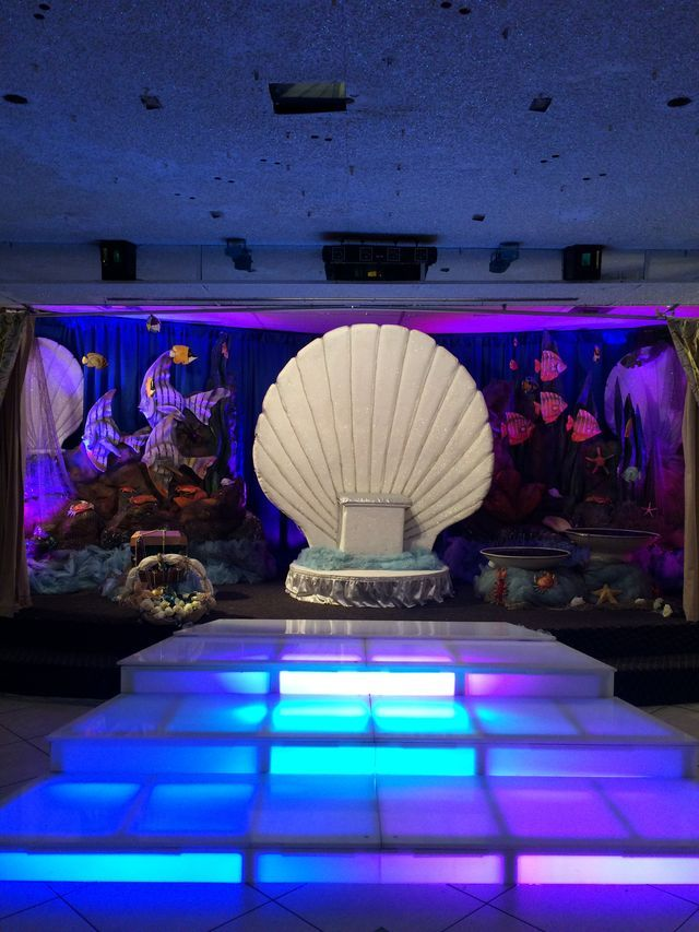 Under the Sea Sweet 16 Decorations
