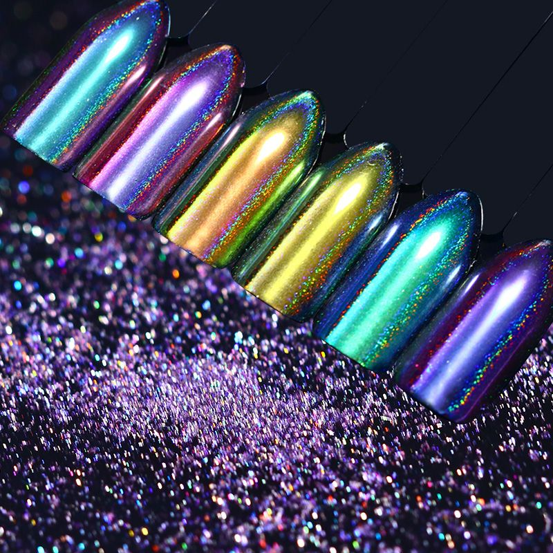 0.5g BORN PRETTY Chameleon Holo Mirror Powder Holographic Nail ...