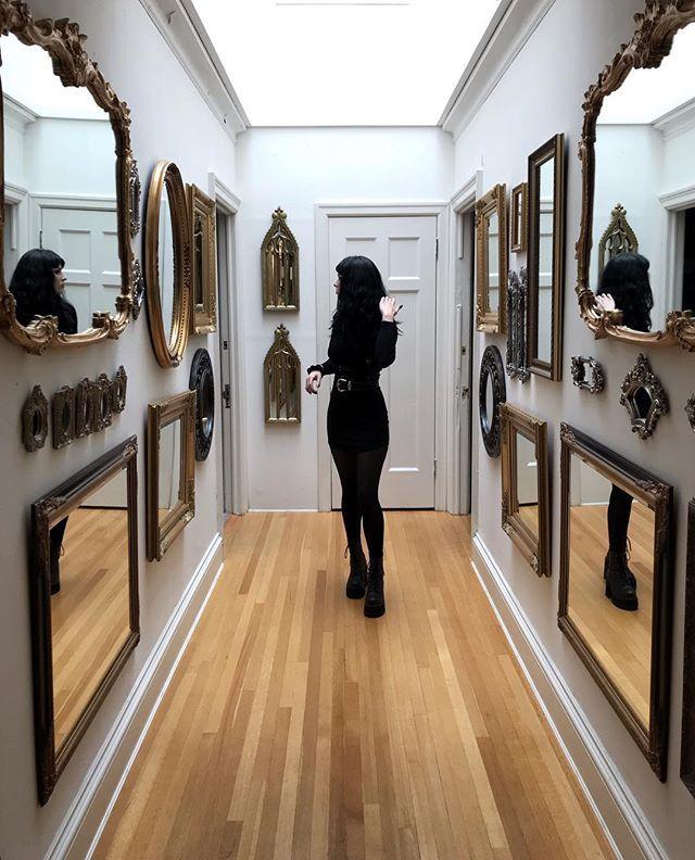 Photo of Kirra Cruz (@kirracruz) • Gothic decor