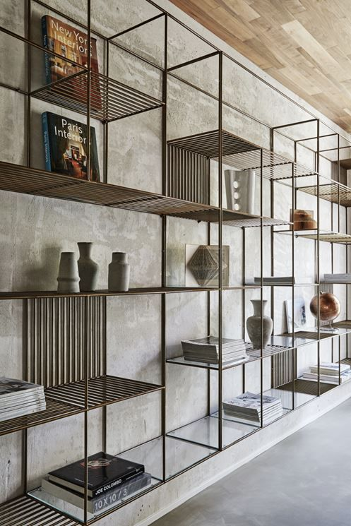 Private House Over Picture Gallery Industrial Interior Design