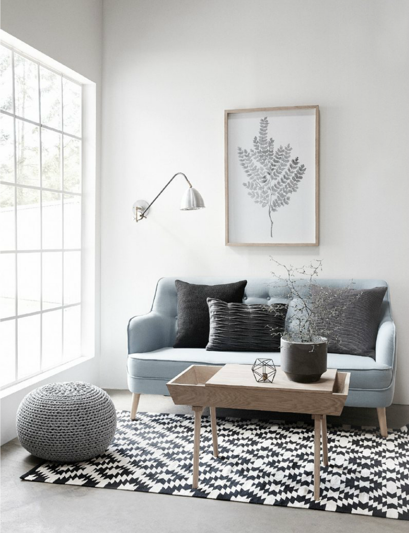 scandinavian style living room by hubsch living rooms scandinavian style living room by hubsch