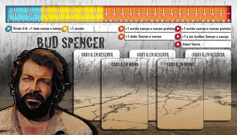 """Personaje de """"Bud Spencer"""" para el juego de Zombicide"""