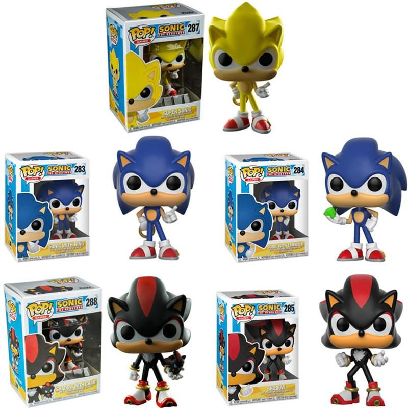 Funko Pop Super Sonic Vinyl Dolls Collectible Model Action Figure Toys For Birthday Gift In 2020 Funko Pop Toys Funko Pop Anime Action Figures