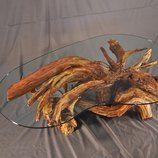 caribbean driftwood table