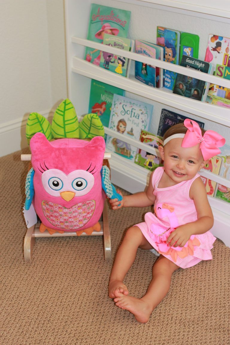 Owlivia the pink owl rocker for #kids! Awesome gift idea :)