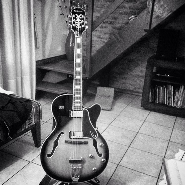 My Epiphone Emperor II Joe Pass