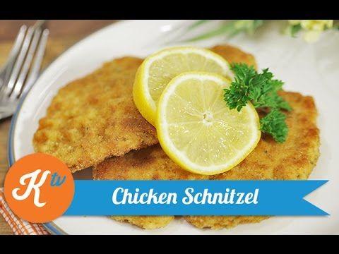Resep Ayam Goreng Jerman Chicken Schnitzel Recipe Theresia Chicken Schnitzel Recipes Schnitzel Recipes