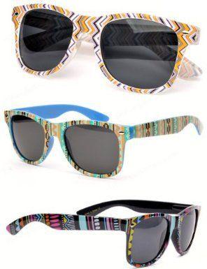 85ce1fcd213 Aztec Wayfarer Sunglasses Santa Fe Indian Amazon Clothing ...
