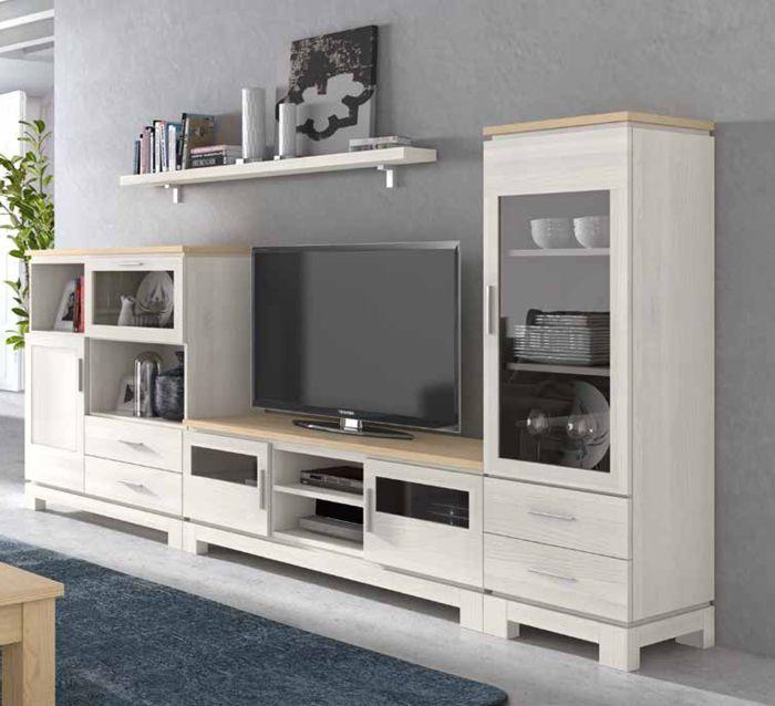 Pin De Irene Gikis En Modulares Muebles Salon Blanco Muebles Salon Muebles Para Tv