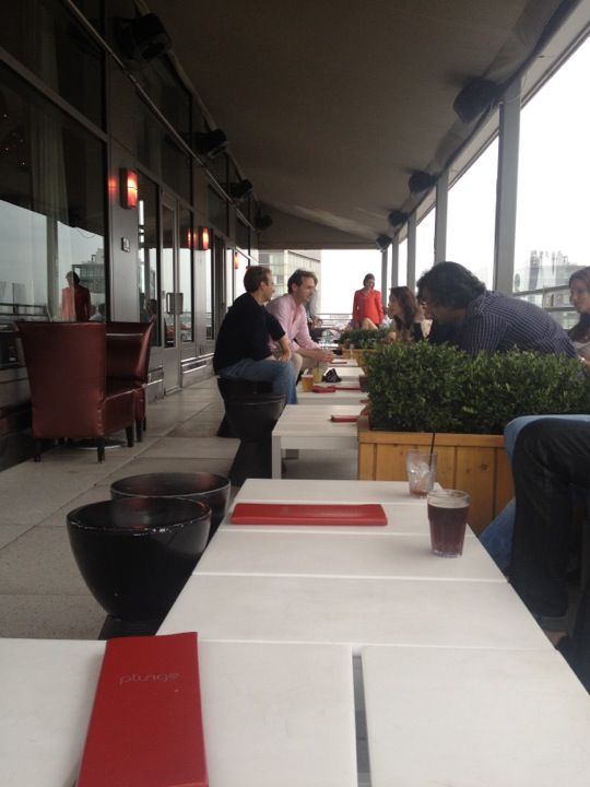 Plunge Rooftop Bar & Lounge at The Gansevoort 場所: New York, NY